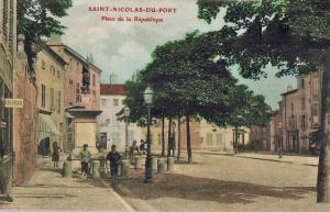 ILL SAINT NICOLAS PLACE MONUMENT