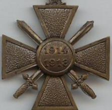 Croix de Guerre 14 18