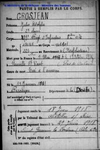 GROSJEAN Jules Adolphe archives_F640240R