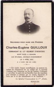 GUILLOUX Charles Eugène Vindicien