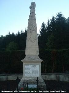 MARTIGNON Léon Albert - Michel Masson 2014 11 24 aux-victimes-Grande-Guerre-Lucy