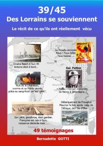 39 45 Des Lorrains se souviennent Bernadette GOTTI - 2