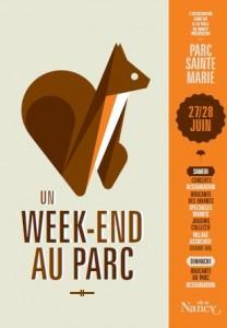 Affiche Parc Sainte-Marie