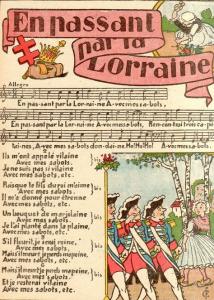 En passant par la Lorraine